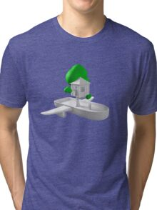 Tree House Boat Tri-blend T-Shirt