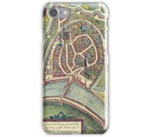 Grenoble Vintage map.Geography France ,city view,building,political,Lithography,historical fashion,geo design,Cartography,Country,Science,history,urban iPhone Case/Skin