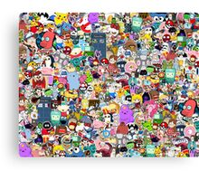 Pop Culture Collection Canvas Print