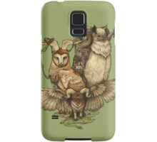 Goatowls (colour) Samsung Galaxy Case/Skin