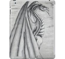 White and Black Dragon. iPad Case/Skin