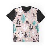 Cactus camp Graphic T-Shirt