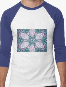 Mandala - Abstract Fractal Artwork Men's Baseball ¾ T-Shirt