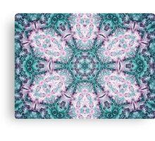 Mandala - Abstract Fractal Artwork Canvas Print