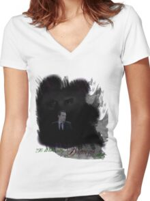 It's Where My Demons Hide (MKII) Women's Fitted V-Neck T-Shirt