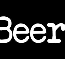 Wisconsin Beer WI Sticker