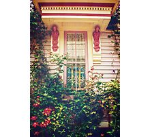 Victorian Cottage Window Photographic Print