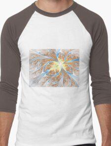 Golden Butterfly - Abstract Fractal Artwork Men's Baseball ¾ T-Shirt