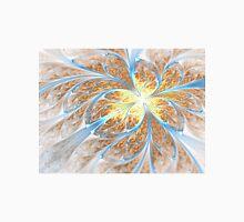 Golden Butterfly - Abstract Fractal Artwork Unisex T-Shirt