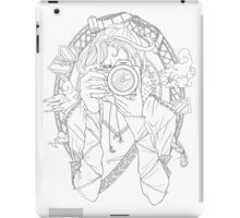 Photography - Line Art iPad Case/Skin