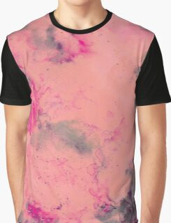 Pink water Graphic T-Shirt