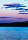 Sunset On Eagle Lake by Caleb Ward