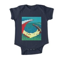 Red Arrows, Bournemouth Beach One Piece - Short Sleeve