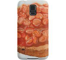 baked beans on toast Samsung Galaxy Case/Skin