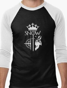 King of the North - GoT Men's Baseball ¾ T-Shirt