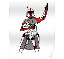 Red Clone Trooper  Poster