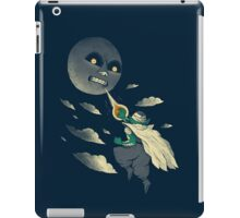 how to defeat the moon iPad Case/Skin