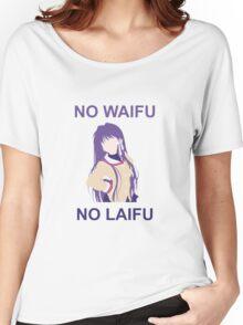 No Waifu No Laifu (Fujibayashi Kyou) Women's Relaxed Fit T-Shirt