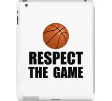 Respect Basketball iPad Case/Skin
