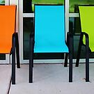 Bright And Bold Chairs by Cynthia48