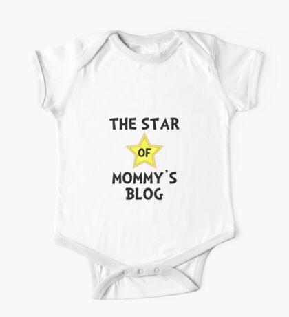 Mommy's Blog Star One Piece - Short Sleeve