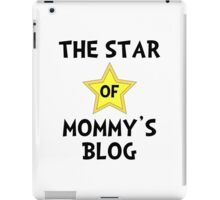 Mommy's Blog Star iPad Case/Skin