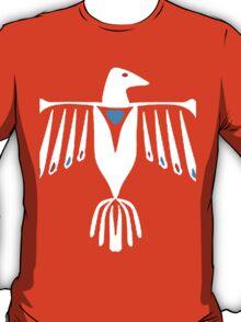 Native American Thunderbird in white T-Shirt