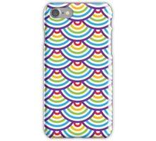 Abstract geometric seamless pattern. Colorful scaly ornament.  iPhone Case/Skin