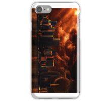 Orange After World City ( Portrait ) iPhone Case/Skin
