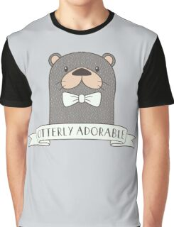 Funny Otter T Shirt Graphic T-Shirt