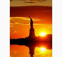 Statue of Liberty reflected Unisex T-Shirt