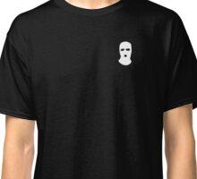 Balaclava Tee (White) Classic T-Shirt