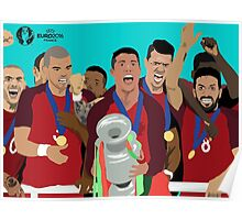 portugal euro 2016 Poster