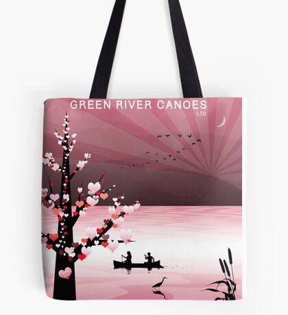 Bag - I Love Canoeing Tote Bag