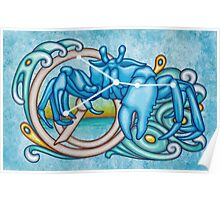 Cancer Crab Constellation Poster