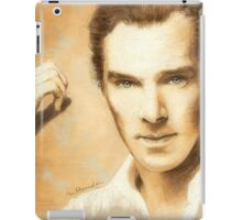 Benedict Cumberbatch Artwork Design 2 iPad Case/Skin