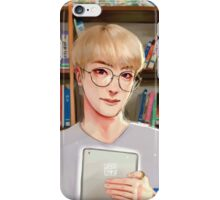 Bookshelf Jin iPhone Case/Skin