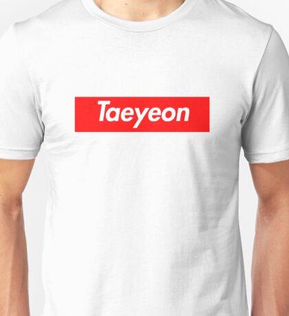 Taeyeon Supreme Why Unisex T-Shirt