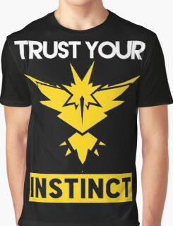Trust Your Instinct Graphic T-Shirt