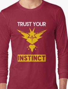 Trust Your Instinct Long Sleeve T-Shirt