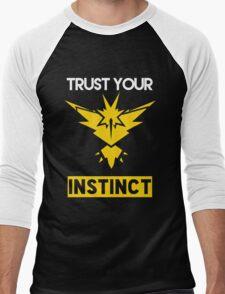 Trust Your Instinct Men's Baseball ¾ T-Shirt