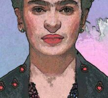 Trendy Frida Kahlo-Ferwell Sticker