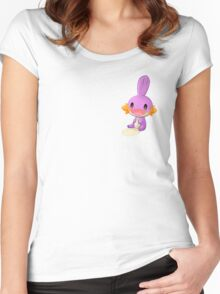 Cute Mudkip shiny Women's Fitted Scoop T-Shirt