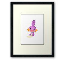 Cute Mudkip shiny Framed Print