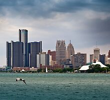 Detroit From Belle Isle by Jan Cartwright