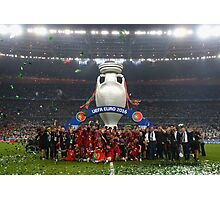 Portugal celebration euro 2016 Photographic Print