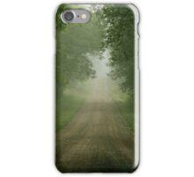 Foggy Road iPhone Case/Skin