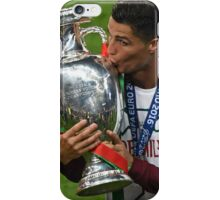 Cristiano Ronaldo celebration euro 2016 iPhone Case/Skin