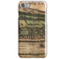 Heidelberg Vintage map.Geography Germany ,city view,building,political,Lithography,historical fashion,geo design,Cartography,Country,Science,history,urban iPhone Case/Skin