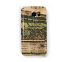 Heidelberg Vintage map.Geography Germany ,city view,building,political,Lithography,historical fashion,geo design,Cartography,Country,Science,history,urban Samsung Galaxy Case/Skin